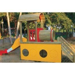 Anaokulu Tren Çocuk Oyun Parkı