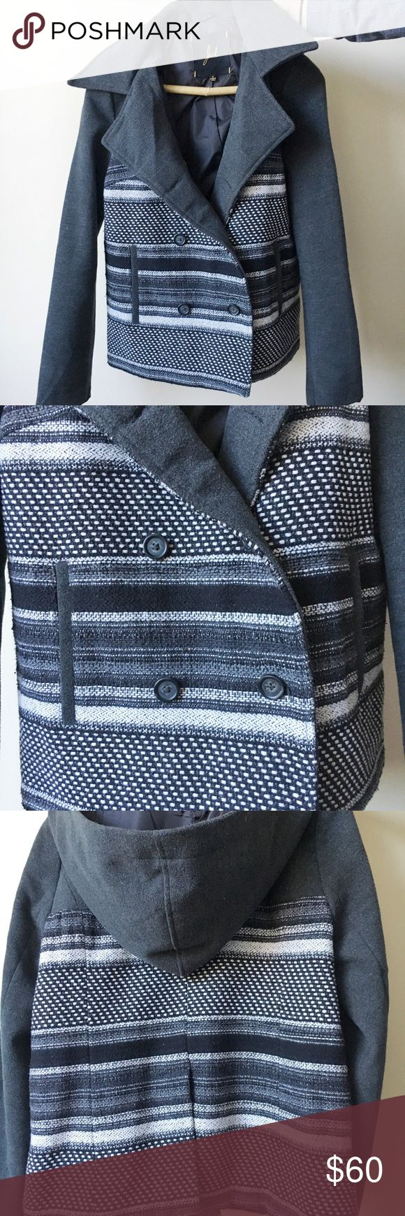 Jack Winter Coat Worn once. I bought this way too small but tried to make it work because it's so cute!! Great condition! Jack by BB Dakota Jackets & Coats