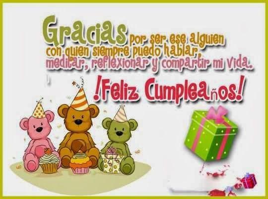Tarjetas de cumpleaños para facebook