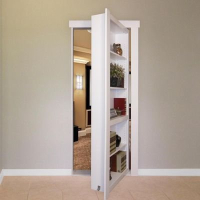 Image result for modern mirrored bifold closet doors 1/2 closet