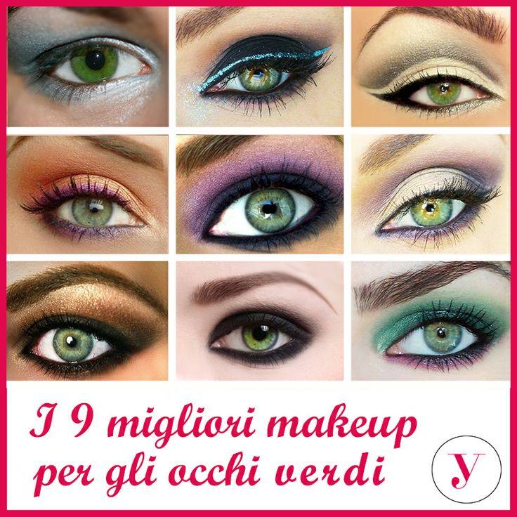 Quali colori di #ombretto sono l'ideale per gli occhi verdi? Ecc qualche idea! http://www.vanitylovers.com/prodotti-make-up-occhi/ombretti-palette.html?utm_source=pinterest.com&utm_medium=post&utm_content=vanity-palette-occhi&utm_campaign=pin-vanity