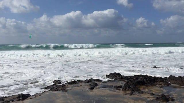 Miejsce: El Cotillo , Latawce:  Cabrinha Drifter Deski: SU2 - wave,