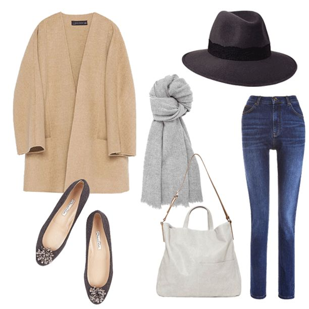 An effortlessly chic Styling Edit, featuring our Elephant Grey Willow Fedora   Black Lace Band. #penmayneoflondon #fedora #hats #whistles #cos #theoutnet