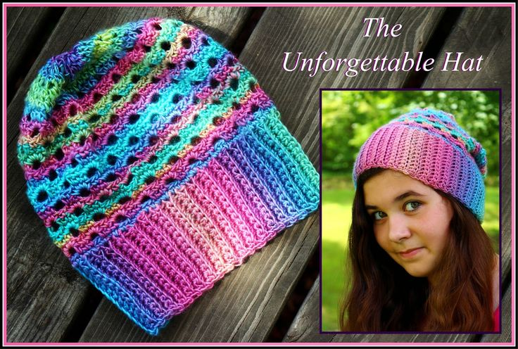 Free Crochet Patterns Using Red Heart Unforgettable Yarn : Crochet Supernova: The Unforgettable Hat ~FREE PATTERN ...