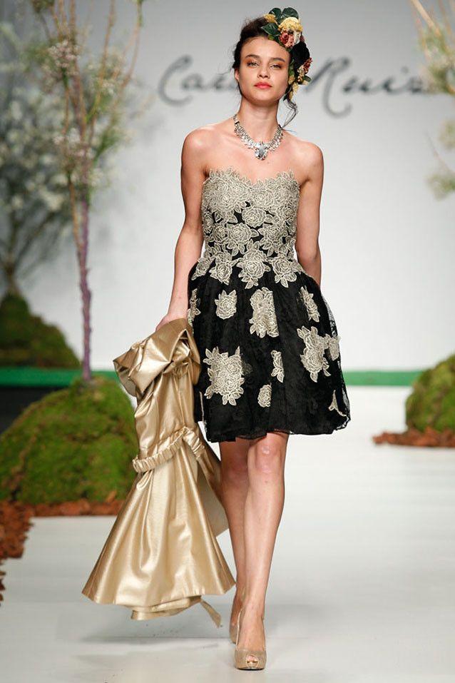 Vestido de la nueva colección de fiesta de Carla Ruiz 2014.  Próximamente en venta.