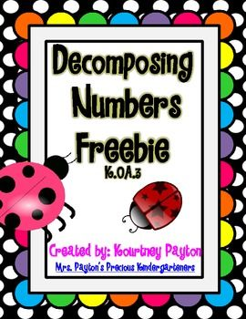 Ladybug Decomposing Numbers