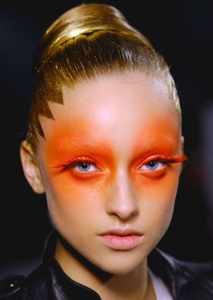 Latest Snap Shots Creative Makeup Orange Concepts Mit Bildern