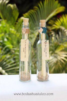Invitaciones para tus invitados ideal para tu boda en playa por Bodas Huatulco