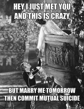 d37fac9243a6187e7969f2f6faac174b juliet balcony norma shearer 145 best romeo & juliet images on pinterest romeo and juliet,Romeo And Juliet Meme