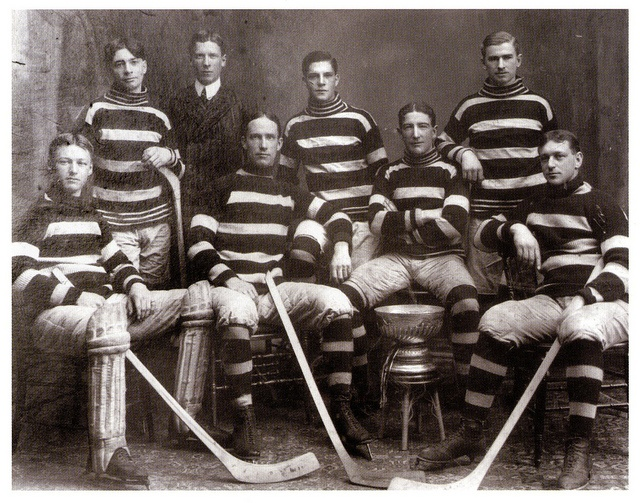"""The Ottawa Senators & The Cup - The """"Silver Seven"""" won Lord Stanley's Cup ten times"""