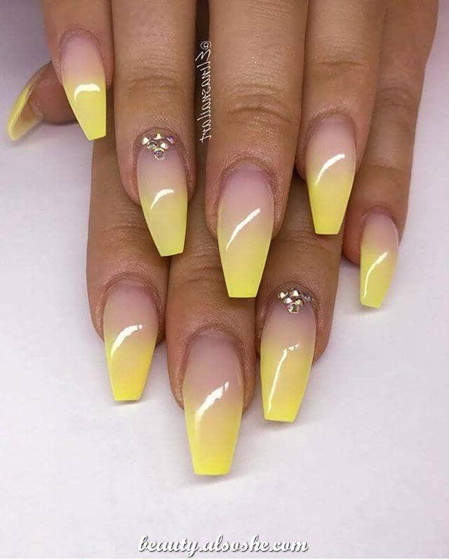 45+ Fantastic Long Nails Designs For 2020 | Diamond nail designs ...