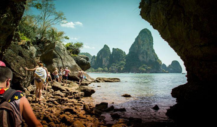 Tonsai Beach Krabi Thailand