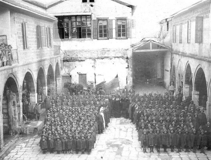 Մերսինի հայ որբերը...  Կիլիկիա Mersin Armenian orphans ... Cilicia