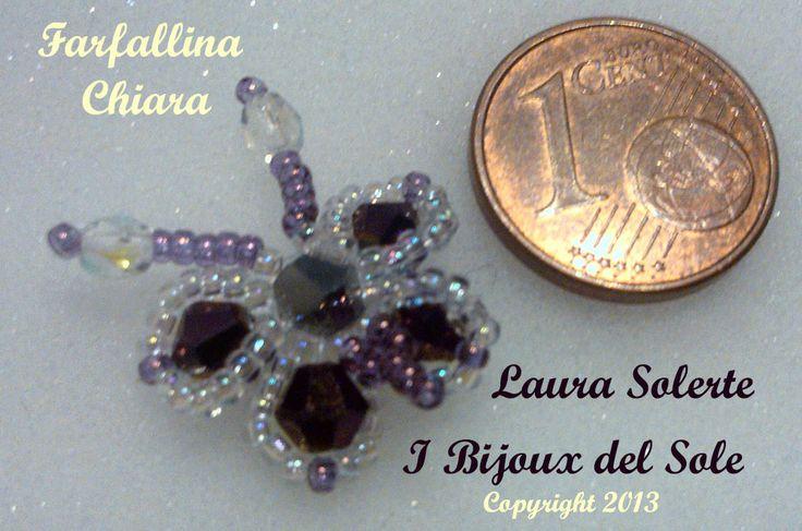 Ciondolo. Pendant. Swarovski crystals. Venduto-Sold. Disponibile su ordinazione - Available on request