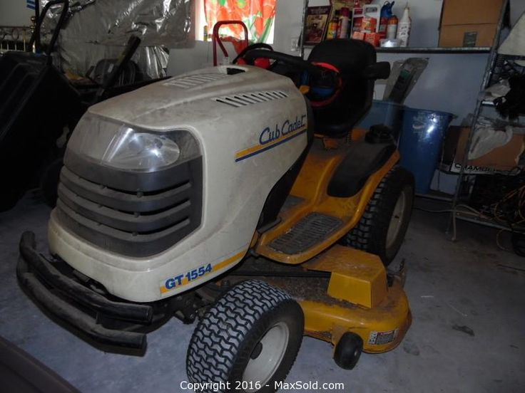 Cub Cadet Ride on Mower Tractor and more in Fremont Online MaxSold Auction. Bid online now!