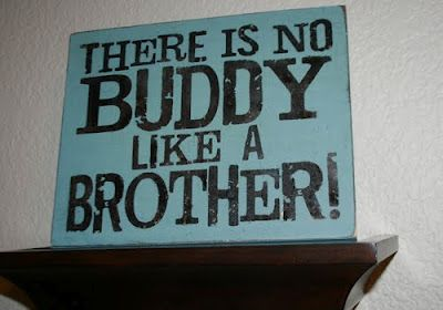 When Jocelyn was 16 months our son, her brother was born...Jocelyn could not fully pronounce 'brother' and instead would say 'buddy'. So since day one Jocelyn nick-named her brother 'Buddy' which stuck with the rest of us!