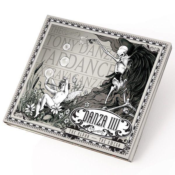 "The+Tony+Danza+Tapdance+Extravaganza+""Danza+IV:+The+Alpha-+The+Omega""+CD+at+https://www.indiemerchstore.com/"