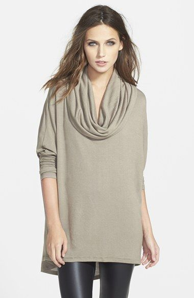 Cowl Neck Blouses Tops