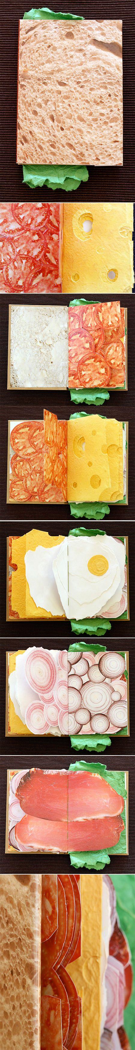 Sandwich Book by Pawel Piotrowski                                                                                                                                                                                 More