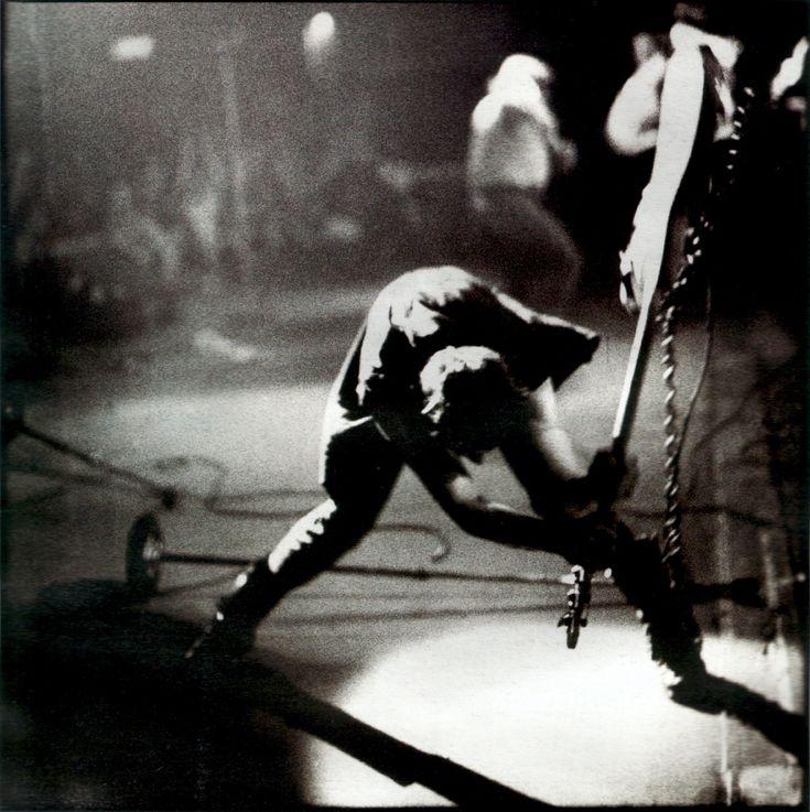The story behind this iconic shot. Paul Simonon bass-smashing album cover photo.