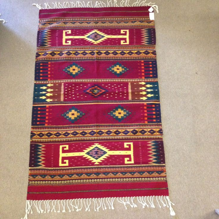 This rug is available at the Zapotec Gallery at www.delsolstores.com.  You can find similar rugs at Del Sol Mesilla, Tularosa, and Tucson.