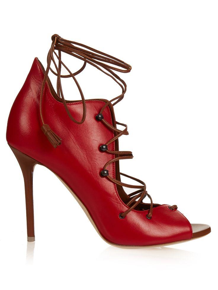 Savannah lace-up leather sandals   Malone Souliers   MATCHESFASHION.COM UK