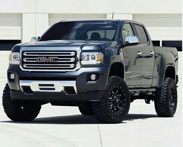 2015 GMC Canyon lifted