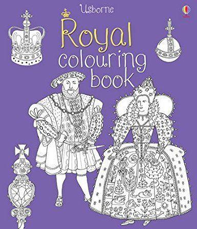 A royal colouring book
