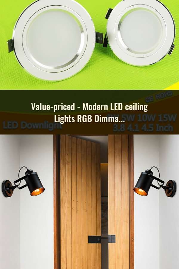 Modern Led Ceiling Lights Rgb Dimmable 25w 36w 52w App Remote Control Bluetooth Music Light Foyer Bedroom Smart Ceiling Lamp Ceiling Lights Ceiling Lights & Fans
