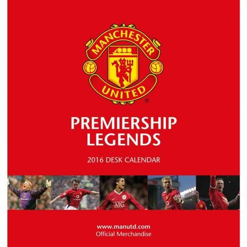 Manchester United F.C. Desktop Calendar 2016