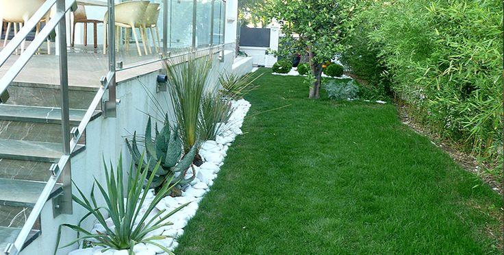 Les 25 meilleures id es concernant cr ation de jardin contemporain sur pinterest jardins for Jardin paysager contemporain design