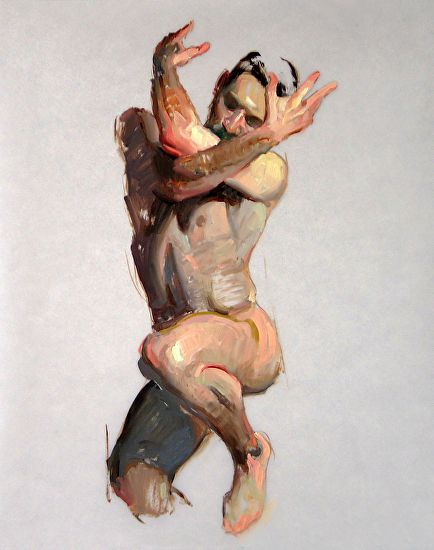 Eric Bowman - Figure No. 27- Oil - Painting entry - November 2014 | BoldBrush Painting Competition