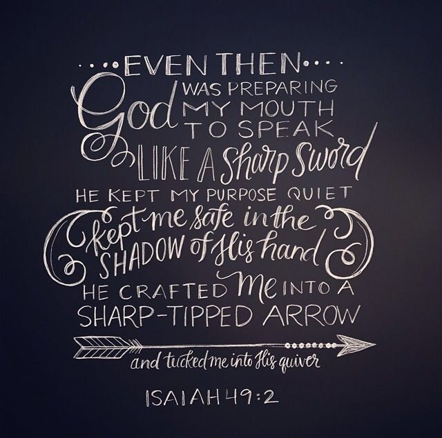 Image result for ISAIAH 49 VERSE 2