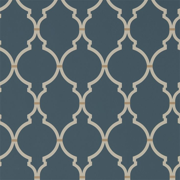 Style Library - The Premier Destination for Stylish and Quality British Design | Products | Empire Trellis (DART216338) | Art Of The Garden Wallpapers