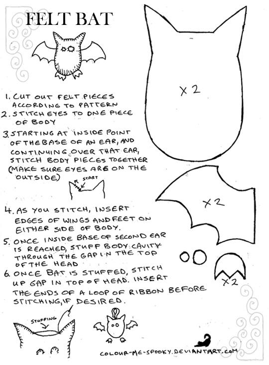 129 best Ecole - chauve souris images on Pinterest Halloween - bat template