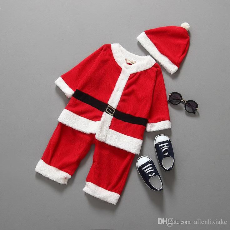2016 new arrival autumn baby boy Christmas suit children clothing Baby boy Christmas Santa clothing red Christmas suits of clothing