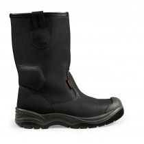 Scruffs Gravity S1-P Rated Safety Rigger Boots Black