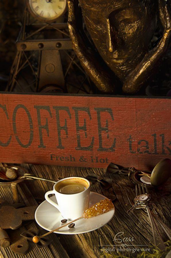 Coffee Talk by Cass Peterson Greene, via 500px