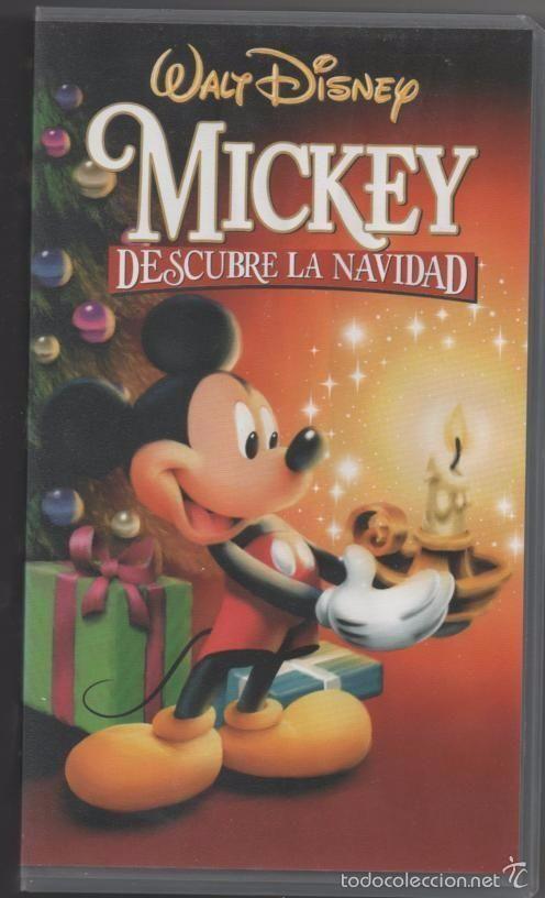 PELÍCULA VÍDEO VHS MICKEY, DESCUBRE LA NAVIDAD, S.A. WALT DISNEY (CINE INFANTIL-DIBUJOS ANIMADOS)