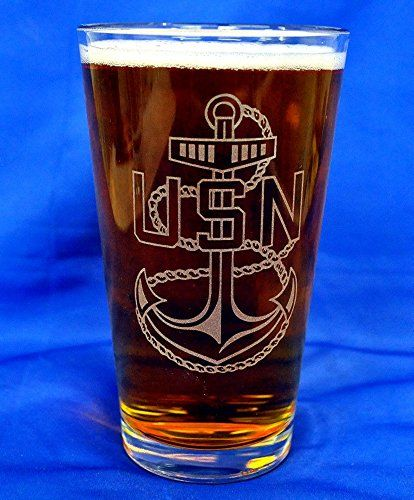 Custom Etched Navy CPO E-7 Emblem on 16 Oz Pint Glasses Set of 4 PG SEEDS GIFT SHOP,http://www.amazon.com/dp/B00COEQRB6/ref=cm_sw_r_pi_dp_nGZ2sb1E355VNQGV