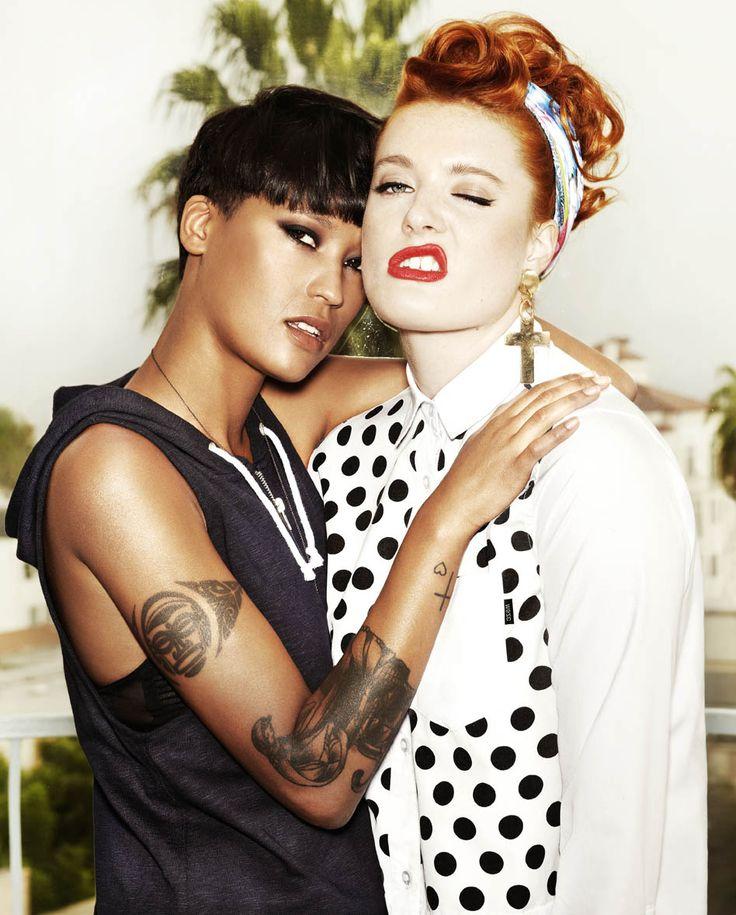 Caroline Hjelt and Aino Jawo (Icona Pop)