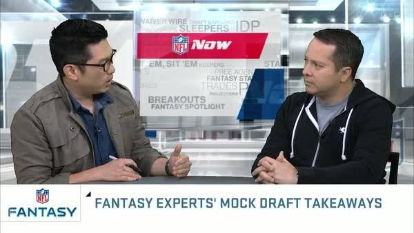 """""""I think the 3rd round is a little high for Eddie Lacy.""""  NFL Fantasy mock draft recap."""