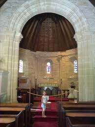 Inside : The Holy Trinity Church of Belvedere, Knysna South Africa