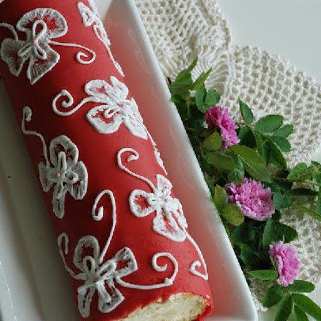#leivojakoristele #kääretorttuhaaste Kiitos @piparinmuruja