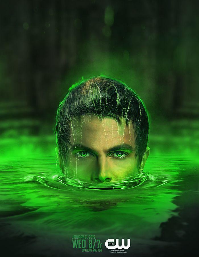 Arrow - Lazarus Pit: Oliver Queen - by bosslogicInc
