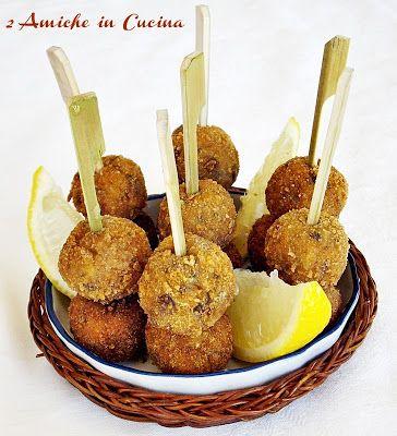 Polpettine Croccanti d'Alici | 2 Amiche in Cucina