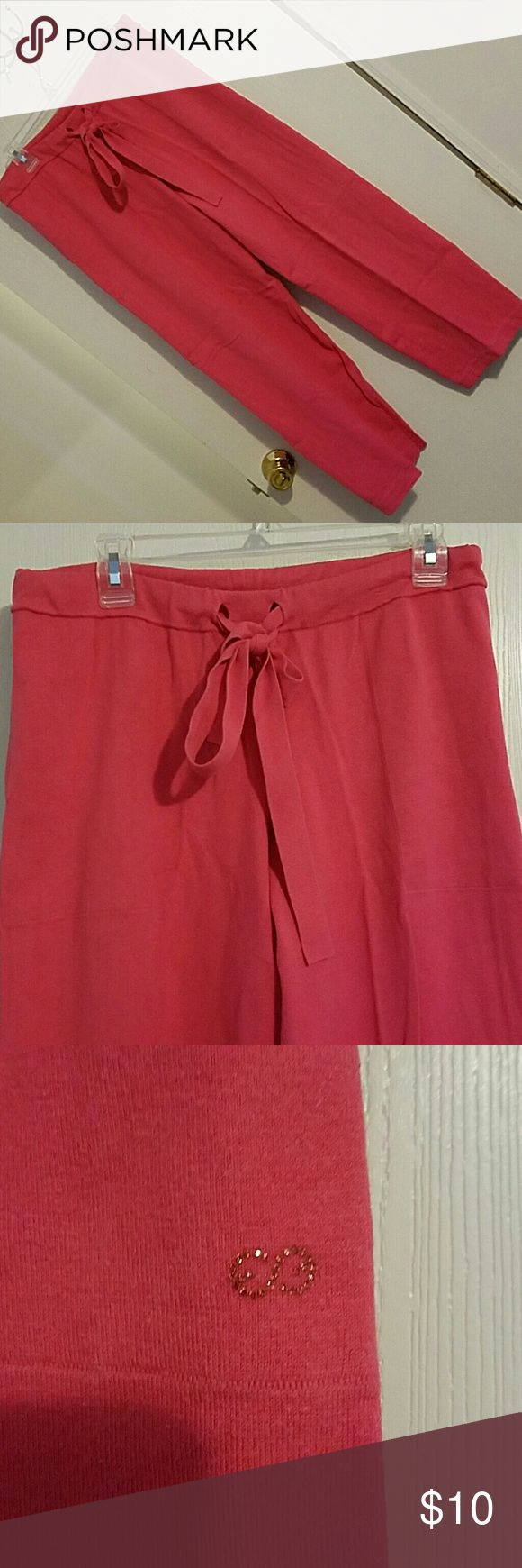Escada Sport warm up pants These are supwr cute on. They are also very comfy. Escada Sport Pants Track Pants & Joggers