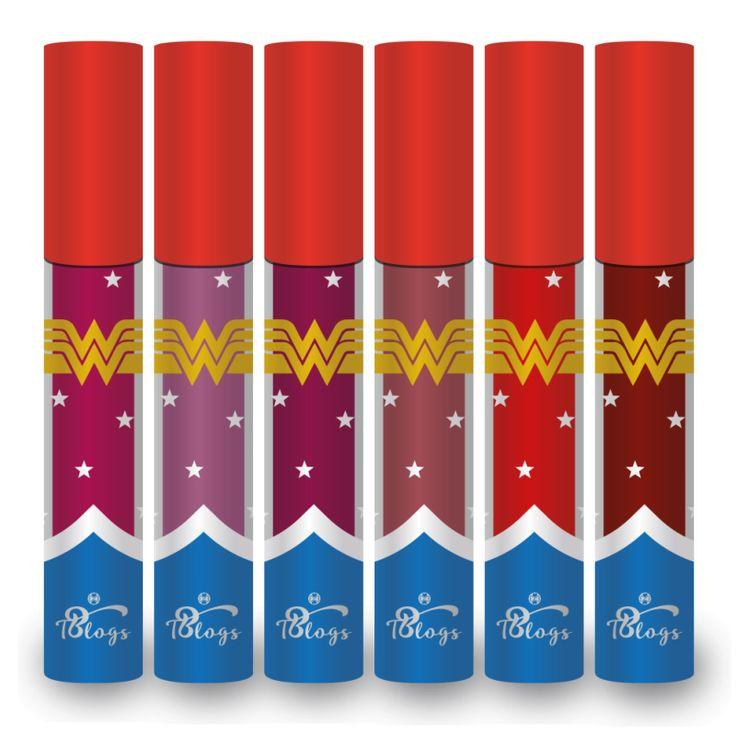 Linha de Batons  Wonder Woman da T. Blog