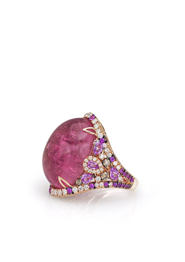 Cashmere collection ring by Valentina Callegher