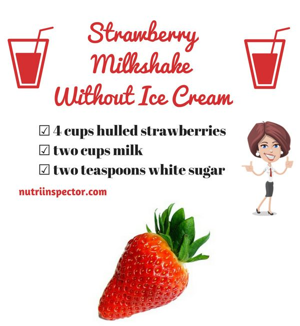 How To Make A Milkshake Without Ice Cream 6 Homemade Recipes Strawberry Milkshake Recipe Without Ice Cream Homemade Milkshake Starbucks Drinks Recipes